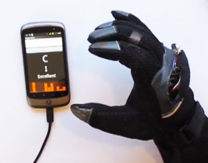 sound to text converting gadget