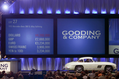 1955 Mercedes-Benz 300SL Sells for $4.62 million