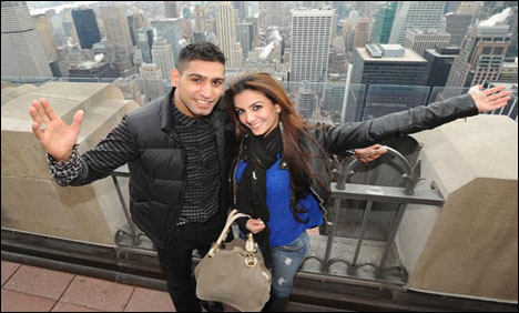 Boxer Amir Khan to get engaged on Jan 29