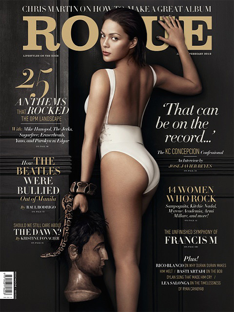Photos Of Hot KC Concepcion on Rogue's Cover