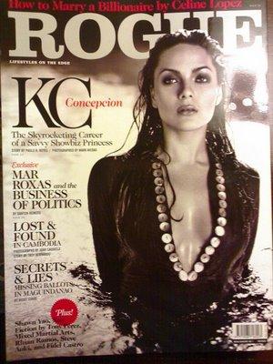 Photos Of Hot KC Concepcion on Rogue's Cover