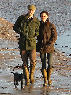 Kate gets a labrador puppy gift