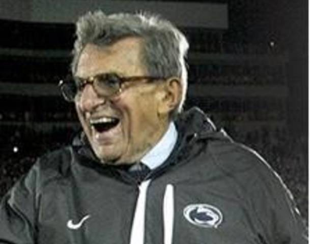 Penn State Football coach Joe Paterno dead