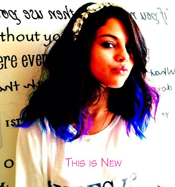 Selena-Gomez's-New-Purple-and-Blue