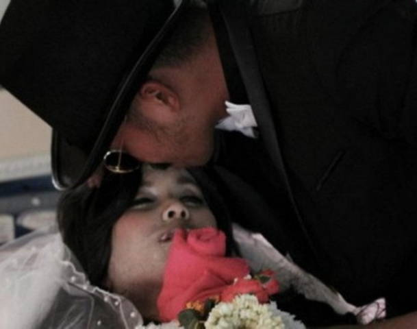 Thai man marries a corpse