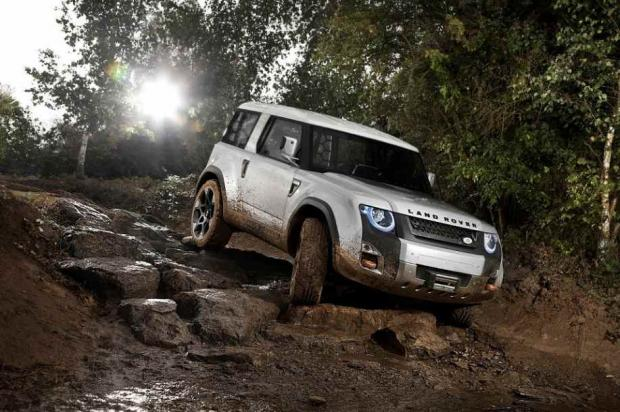 The New Land Rover  Defender  2012