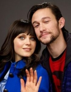 Zooey Deschanel and Joseph Gordon-Levitt Harmonize