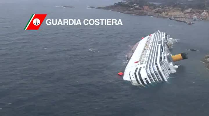 Italy: Costa Concordia death toll rises to 13