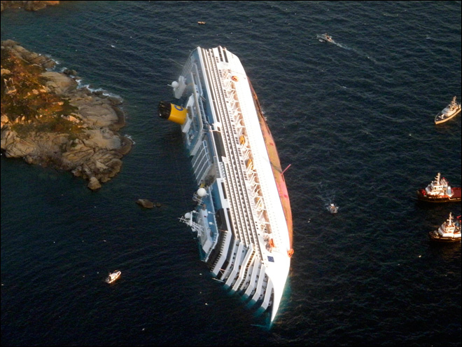 cruise ship accident exclusive video