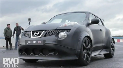 Evo Drives Nissan Juke-R