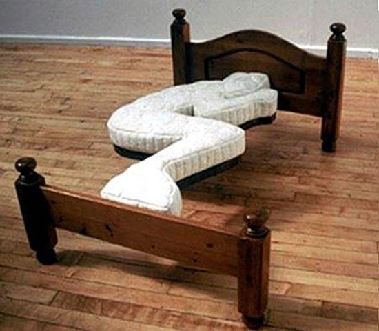 forever alone bed Bizarre Furniture