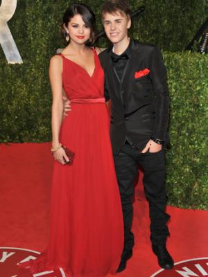 justin bieber and selena gomez party photo