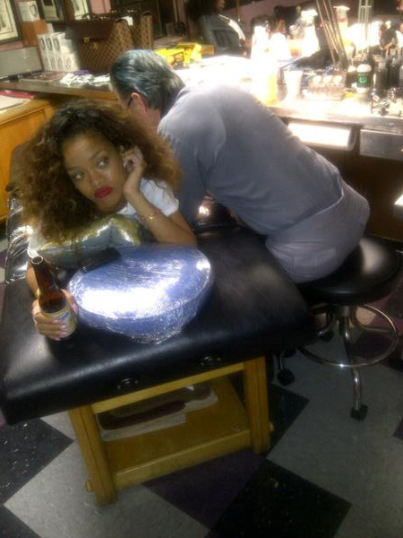 Rihanna Pays Homage To Tupac With Icky-Looking Tattoo