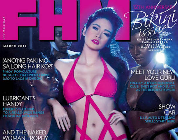 Bela Padilla Racial Controversy FHM Cover March 2012