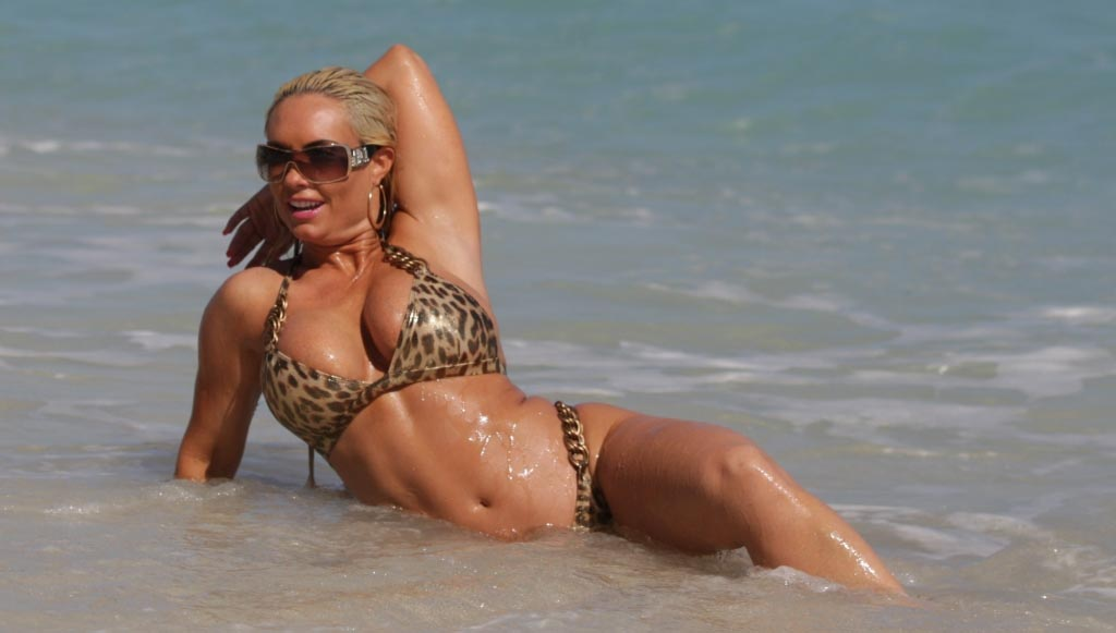 Coco Goes Wild with Leopard Print Bikini