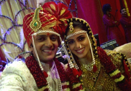 Exclusive Photos -  Riteish Deshmukh weds Genelia D'Souza