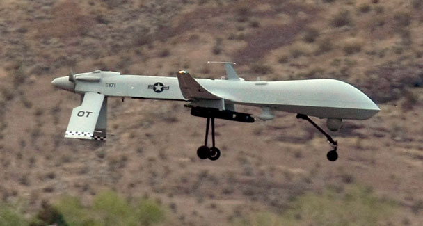 U.S. drone shot down in Pakistan