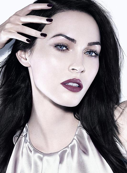 Megan Fox's Icy Armani Beauty Campaign