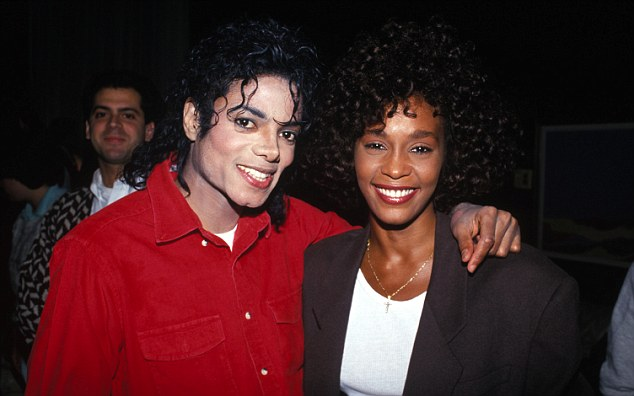 Michael Jackson with Whitney Houston