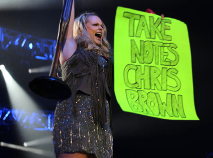 Miranda Lambert isn't a fan of Chris Brown