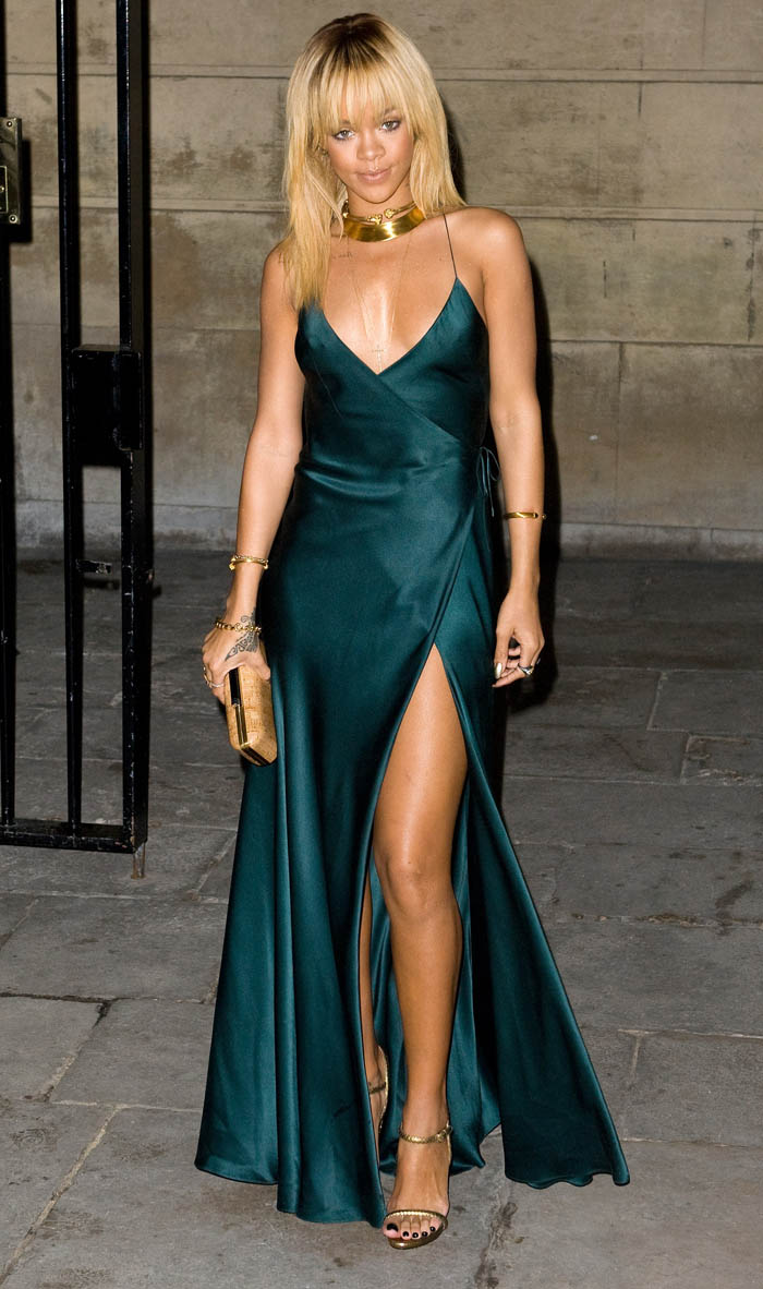 Rihanna at Stella McCartney Presentation During London Fashion Week