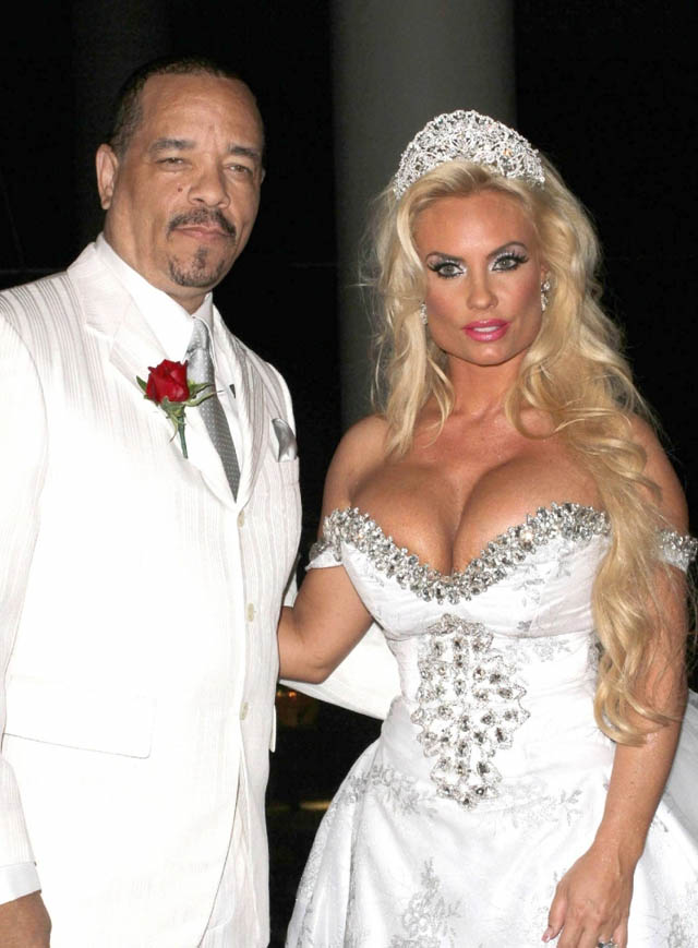 ice t coco wedding vows