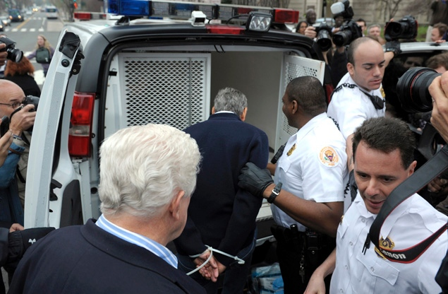 George Clooney Arrested for protest