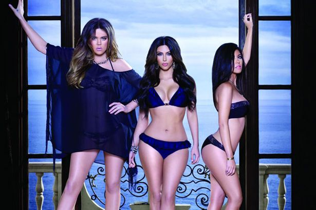 Kardashian Kollection Swimwear Ad