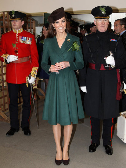 Kate Middleton St Patricks Day