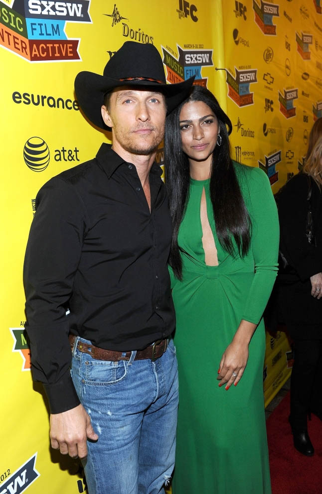 Matthew McConaughey and Camila