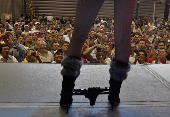 Exclusive Hot Photos of Mexico City's Annual Sex Expo 2012