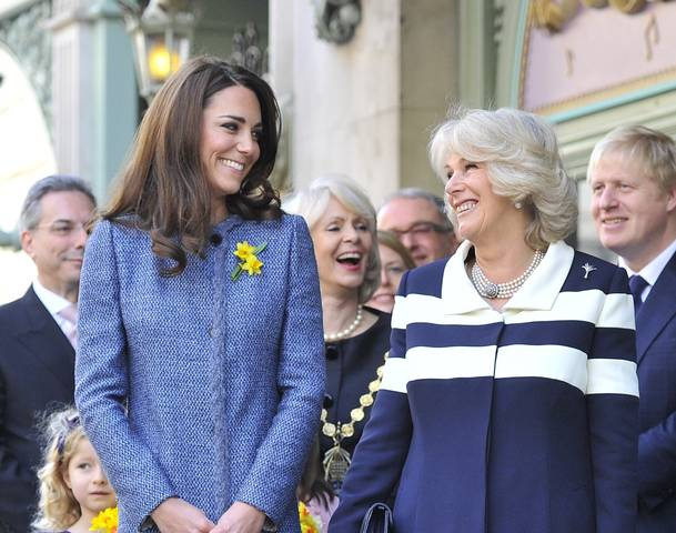 Exclusive Photos of Kate Middleton, Camilla and Queen Visit Fortnum & Mason