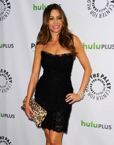 Sofia Vergara Attends Modern Family Tribute