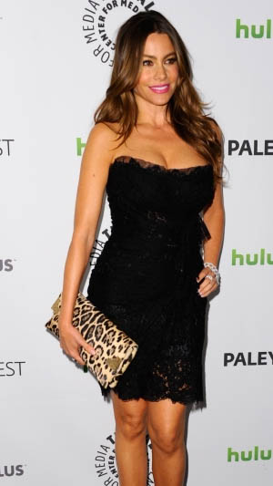 Sofia Vergara Attends PaleyFest 2012 Modern Family Tribute
