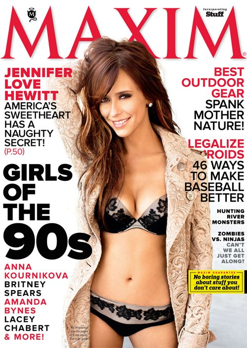 jennifer love hewitt maxim