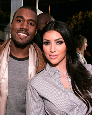 kanye west and kim