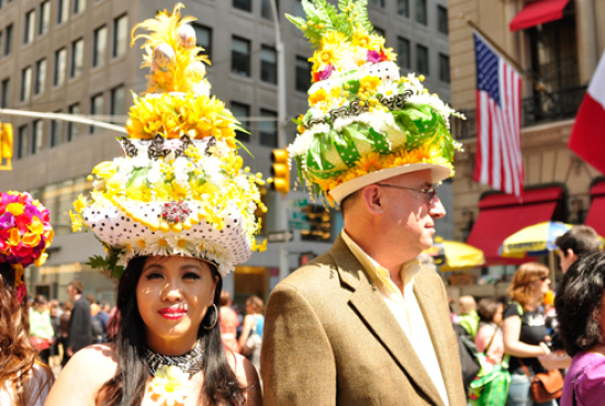 2012 Easter Bonnet Parade NYC