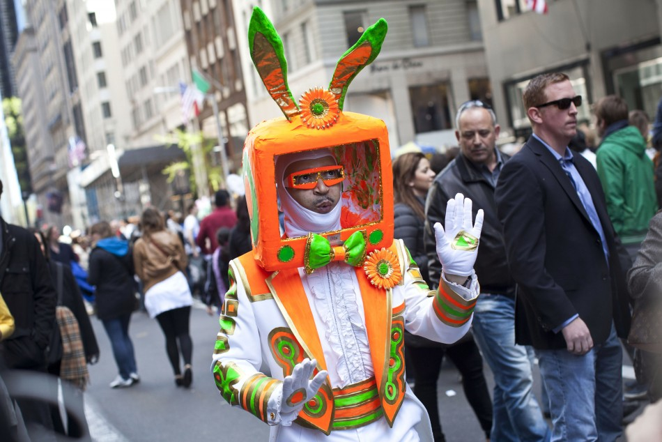 2012 NYC's Easter Bonnet Parade