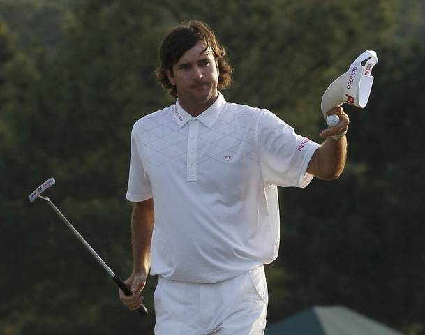 Bubba Watson wins 2012 Masters Tournament