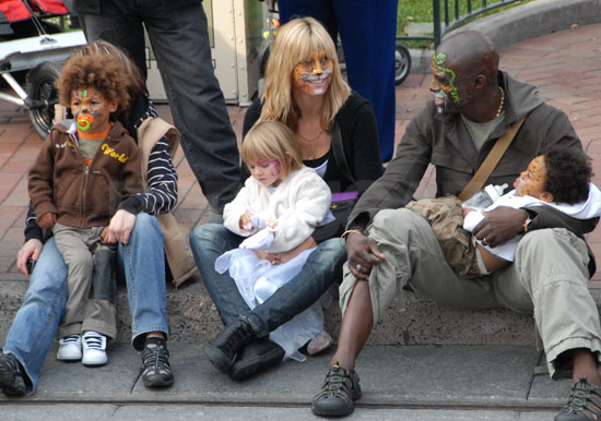 HEIDI KLUM And SEAL with Family