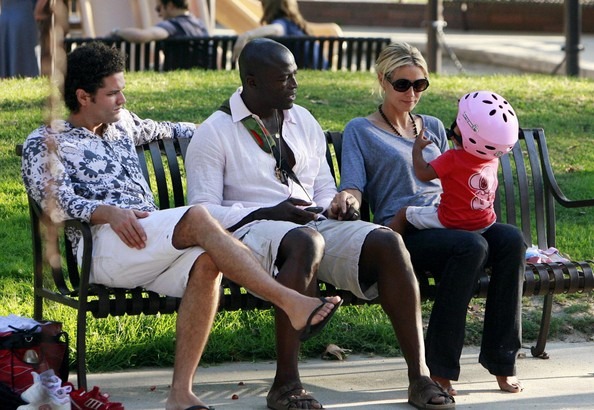 Heidi Klum & Seal with Kid