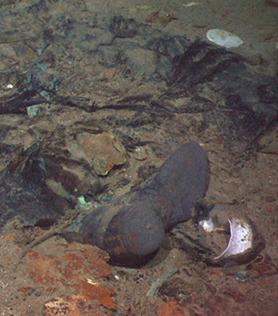 Titanic Human Remains Found 100 Years After Sinking