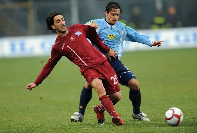 Italian Soccer Player Piermario Morosini