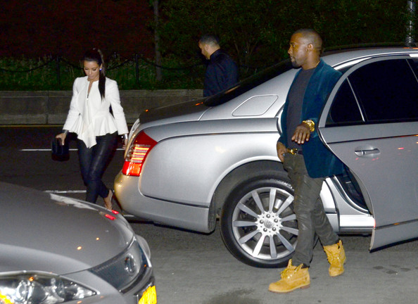 Kanye West and Kim Kardashian Date in NYC