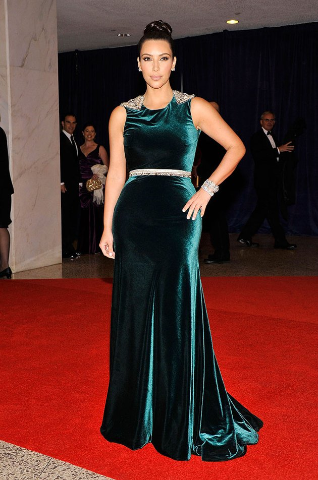 Kim Kardashian - White House Correspondents' Dinner 2012