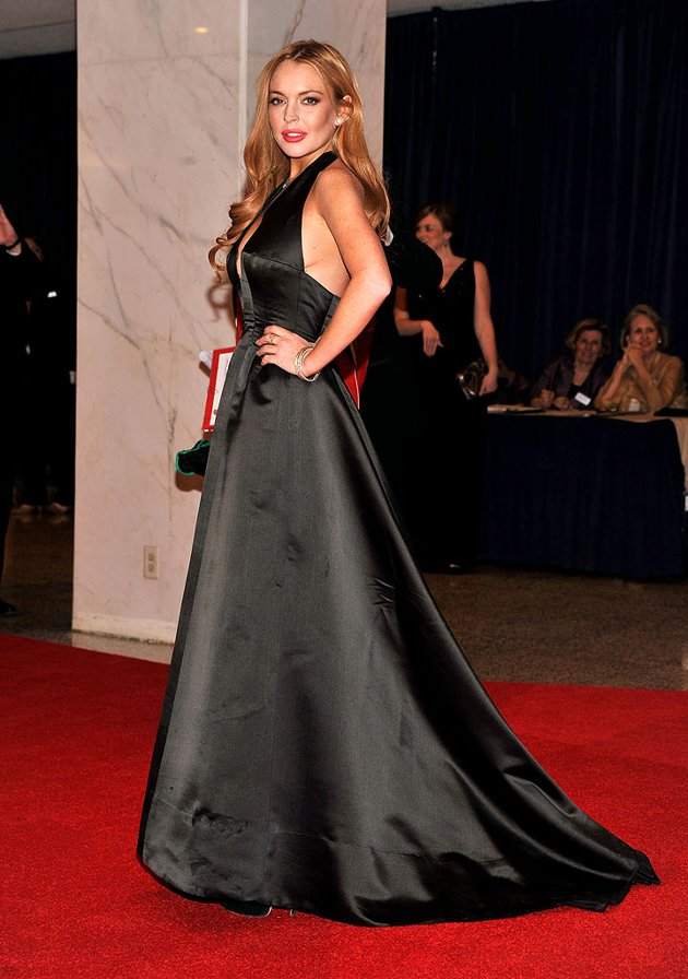 Lindsay Lohan - White House Correspondents' Dinner 2012
