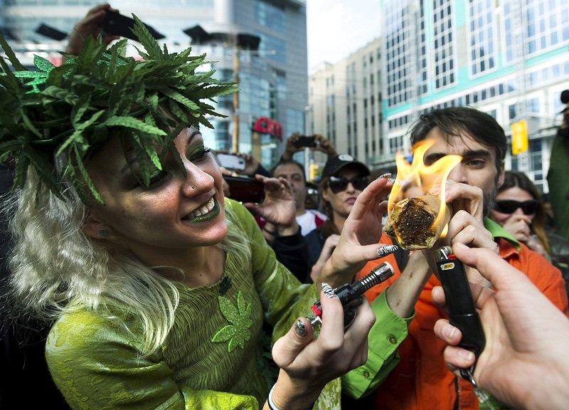 Marijuana party