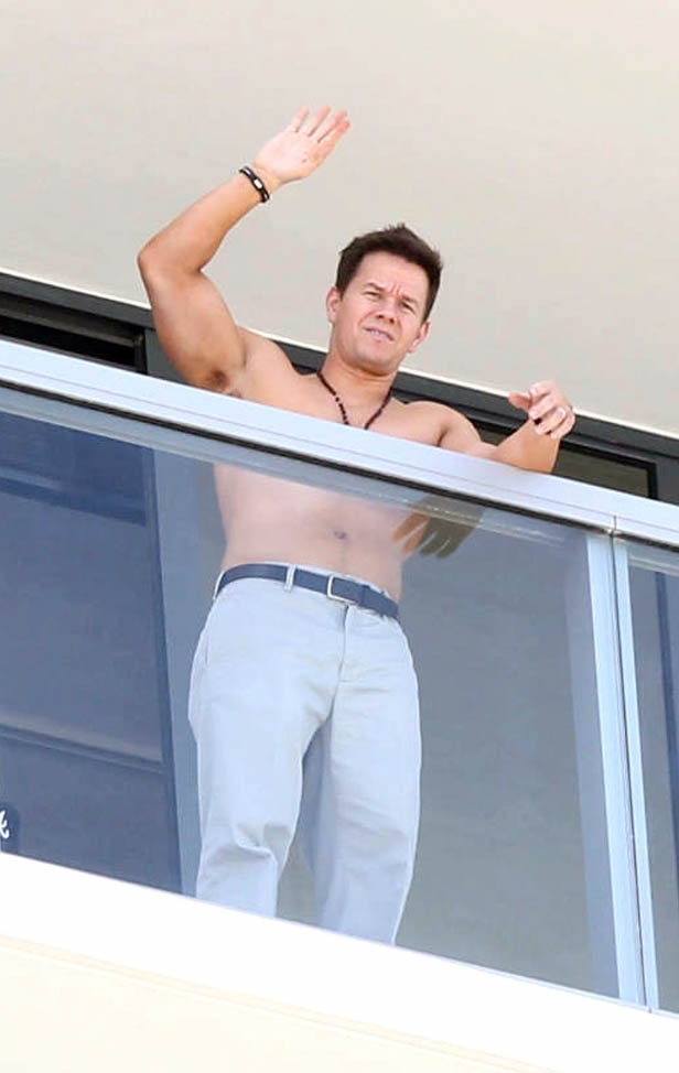 Mark Wahlberg in Miami