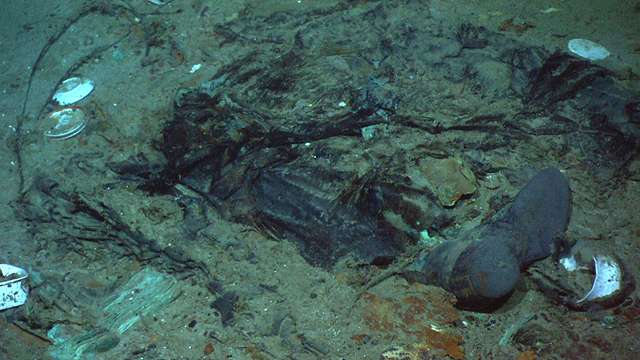 Titanic Human remains