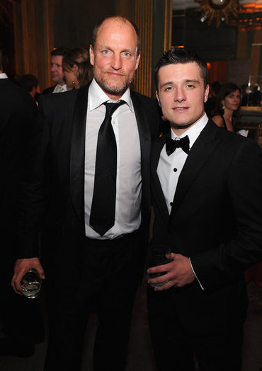 Woody Harrelson and Josh Hutcherson